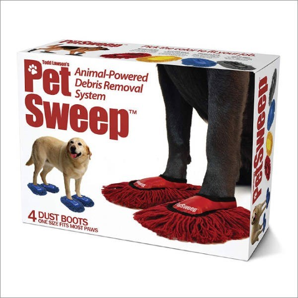 Dog supply - wwu Todd Lawson's Pet Sweep Animal-Powered Debris Removal System TM Sweep 4 DUST BOOTSS ONE SIZE FITS MOST PAWS