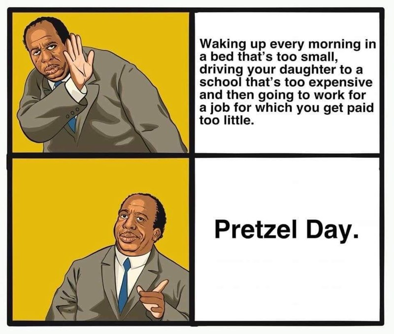 waking up every morning stanley the office memes