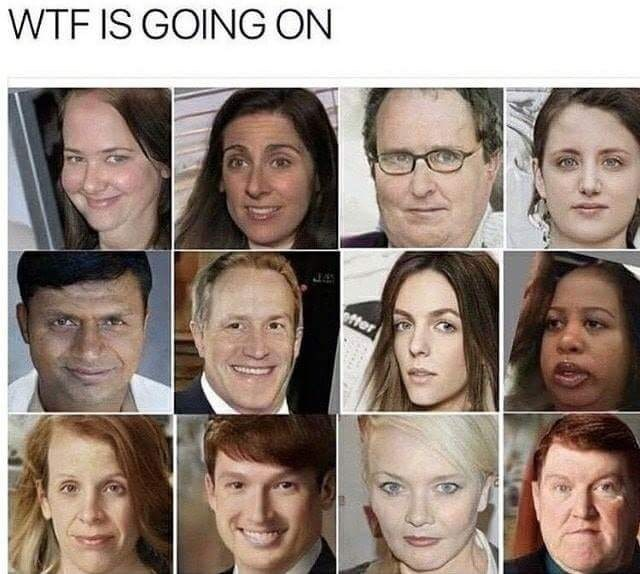 the office people with faces swapped the office memes