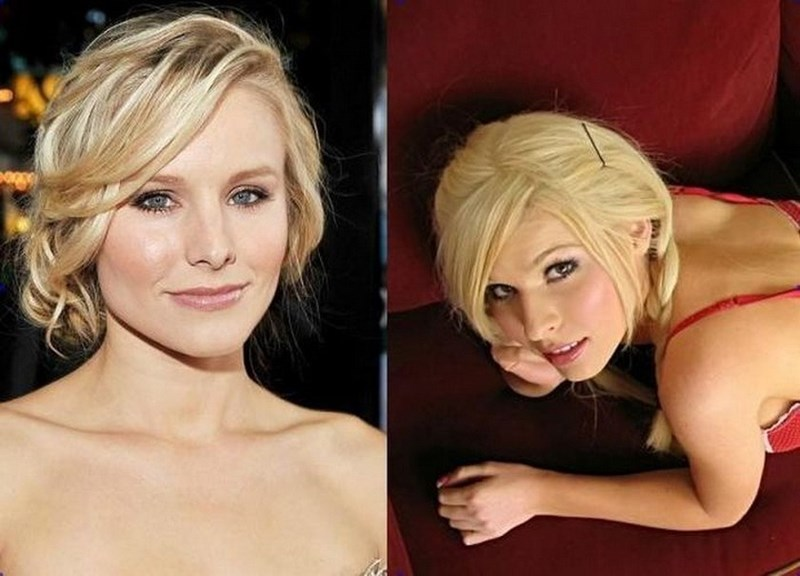 An image of Kristen Bell next to an image of Kenzi Marie.