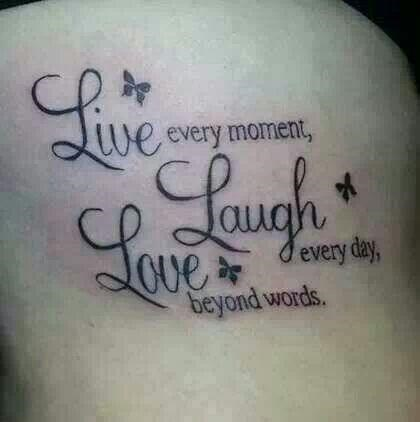 Text - we every moment, ough devery day, Ove beyond words.
