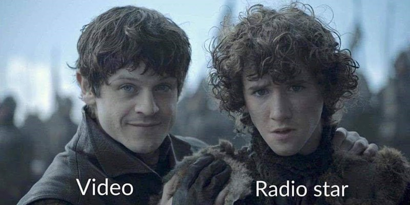 meme - Hair - Video Radio star