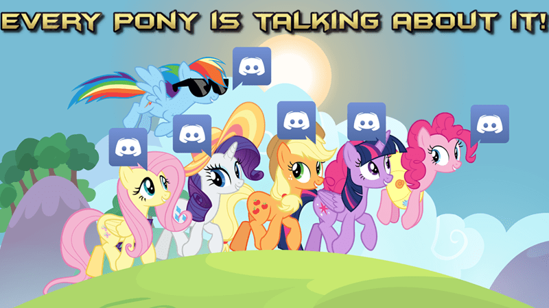 discord app applejack twilight sparkle screencap pinkie pie rarity fluttershy rainbow dash - 9287861760