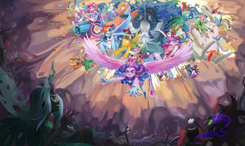 king sombra dragon spike angel starswirl the bearded thorax applejack the great and powerful trixie flash magnus rockhoof sunburst discord somnambula animesoul princess cadence meadowbrook Sweetie Belle flurry heart starlight glimmer twilight sparkle pharynx apple bloom mistmane shining armor tirek chisana maho no yujo-ba garuzu zecora pinkie pie princess luna Big Macintosh rarity chrysalis granny smith daring do princess celestia maud pie fluttershy princess ember changelings Scootaloo rainbow dash - 9288260864