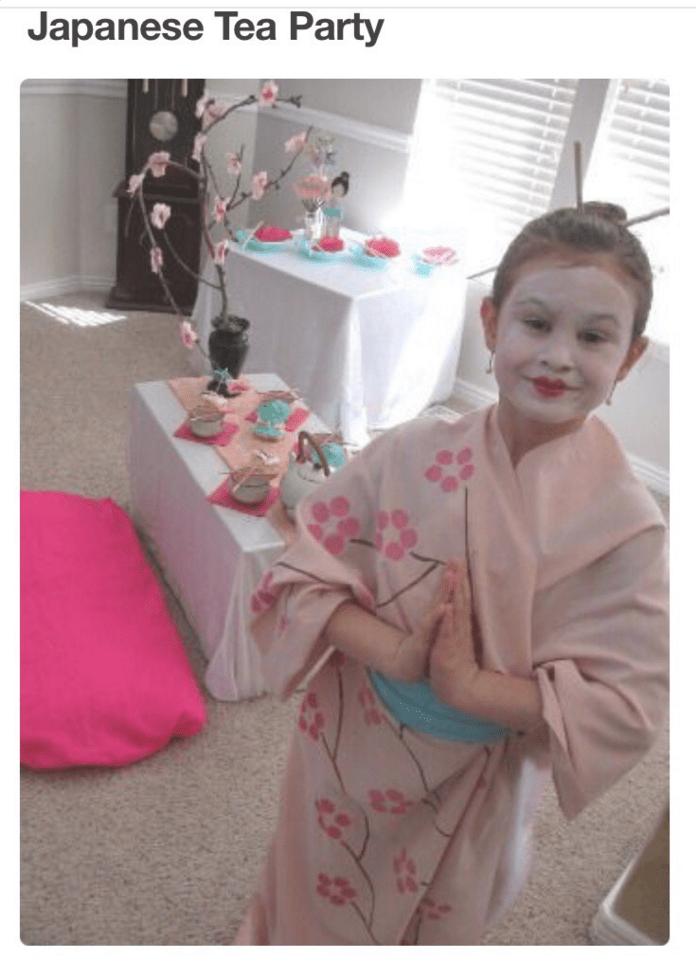Kimono - Japanese Tea Party