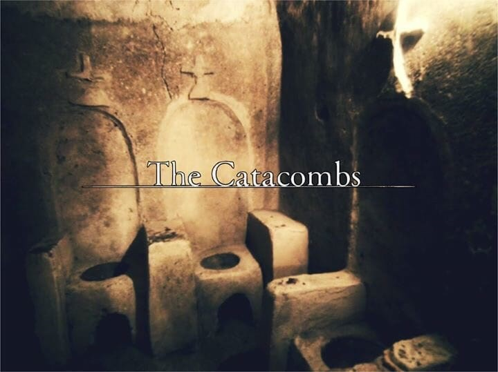Text - The Catacombs