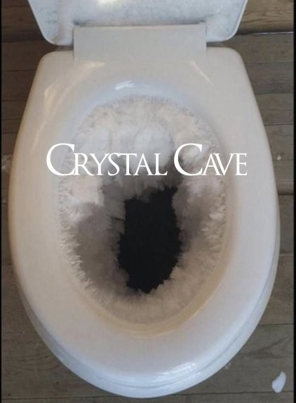 Toilet seat - CRYSTAL CAVE