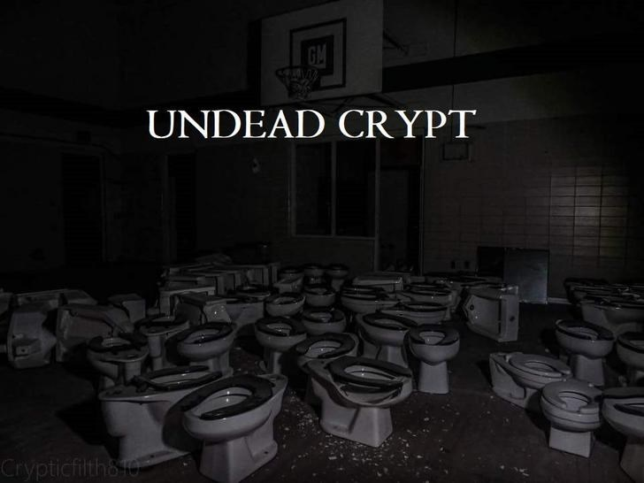 Font - UNDEAD CRYPT Crypticfilth8o