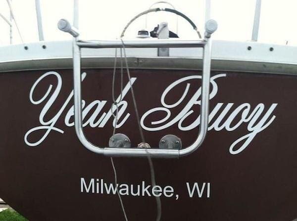 puns - Font - Ycah Byucy Milwaukee, WI