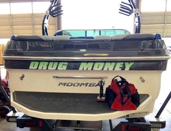 puns - Vehicle - anecs ORUG MONEY MOOMBA