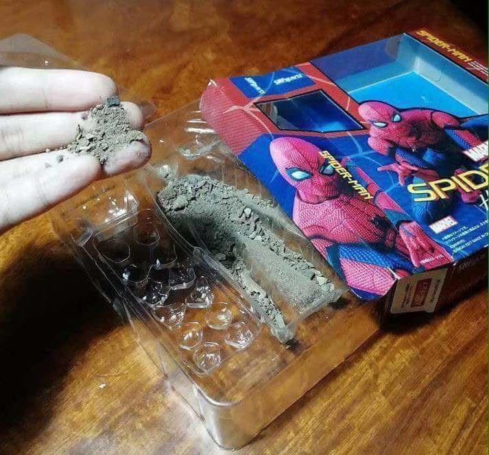 Material property - SPIOE SPIDER-MAN SPID