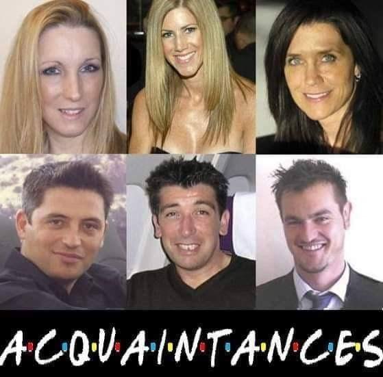 Face - ACOVAINTANCES