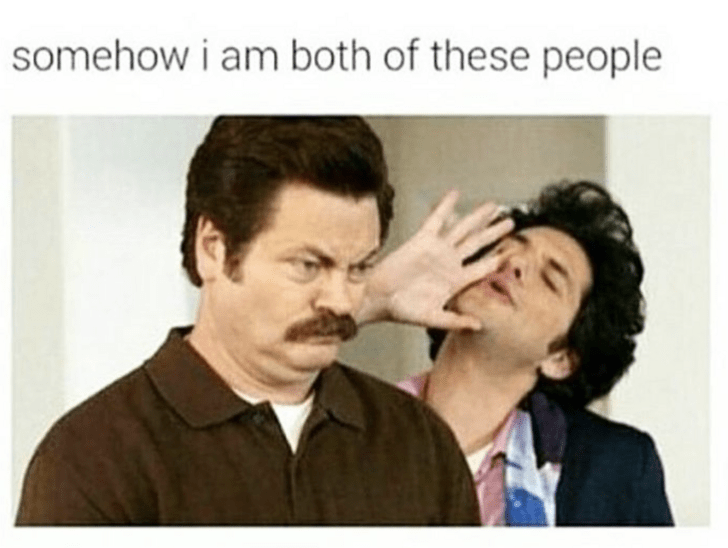 Nose - somehow i am both of these people