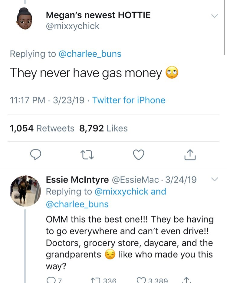 twitter post about newborn babies They never have gas money OMM this the best one!!! They be having to go everywhere and can't even drive!! Doctors, grocery store, daycare, and the grandparents way? like who made you this 07 M3389 336