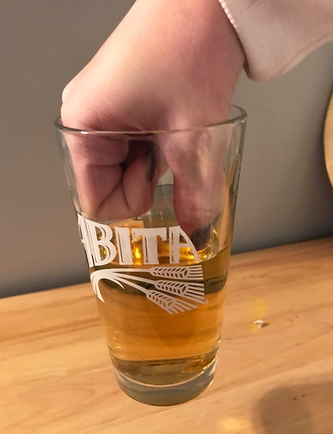 Pint glass - BITA