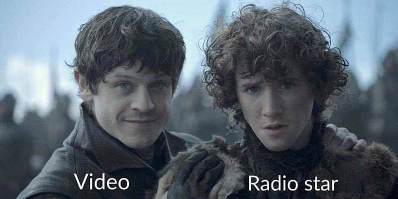 music meme - Hair - Video Radio star