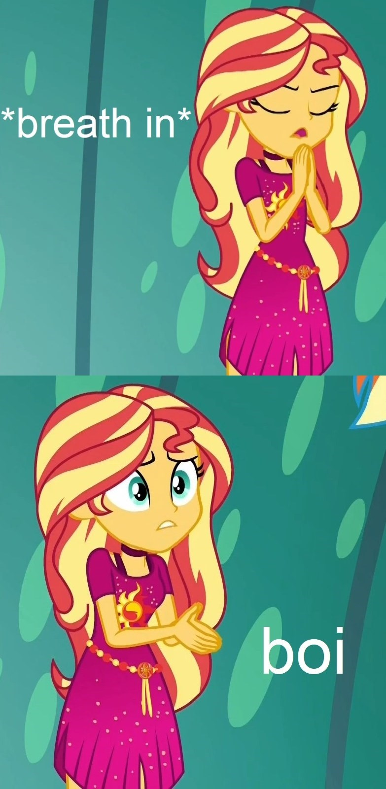 equestria girls screencap boi Memes spring breakdown sunset shimmer - 9289777920
