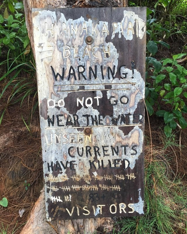 Text - WARNING o NOT GO WEAR THE UNSEEN CURRENTS HAVEOKLED KVIST ORS