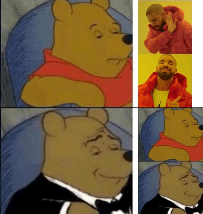 tuxedo winnie pooh - Cartoon - (CF