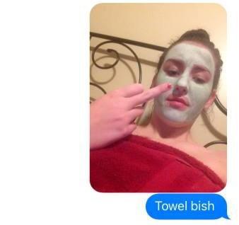 Face - Towel bish