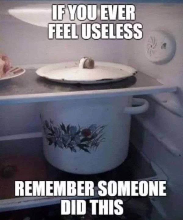 Cookware and bakeware - IF YOU EVER FEEL USELESS REMEMBER SOMEONE DID THIS