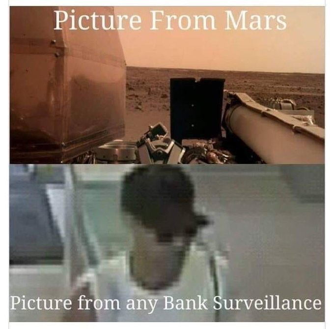 Text - Picture From Mars Picture from any Bank Surveillance