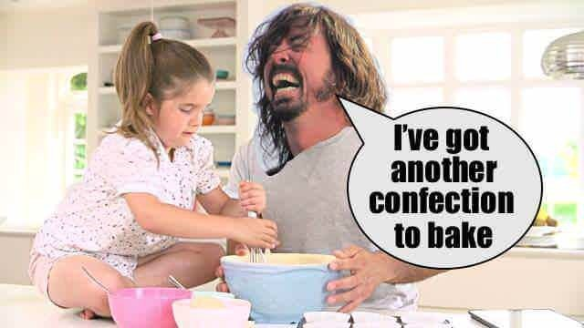 Child - I've got another confection to bake