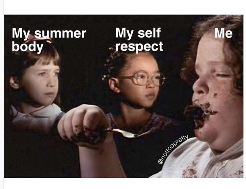 People - My summer body My self respect Me nottoopretty