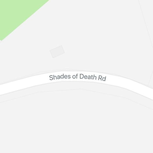 Text - Shades of Death Rd