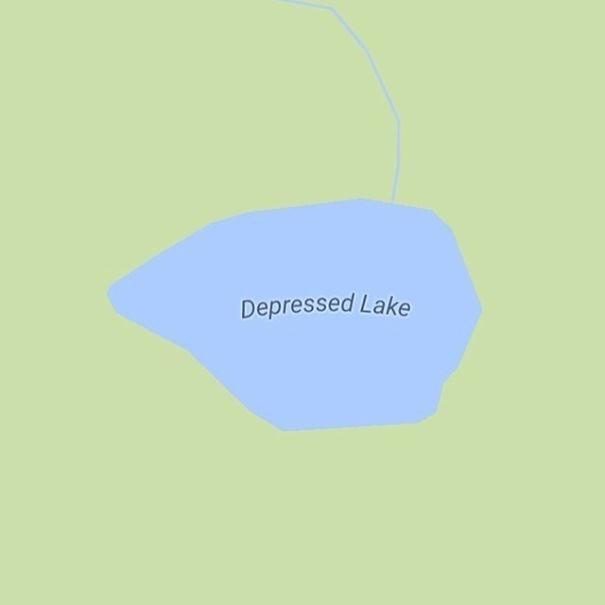 Blue - Depressed Lake