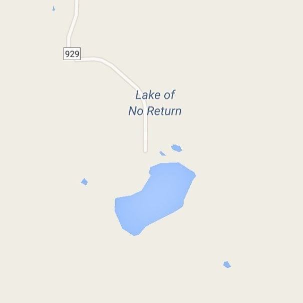 Text - 929 Lake of No Return