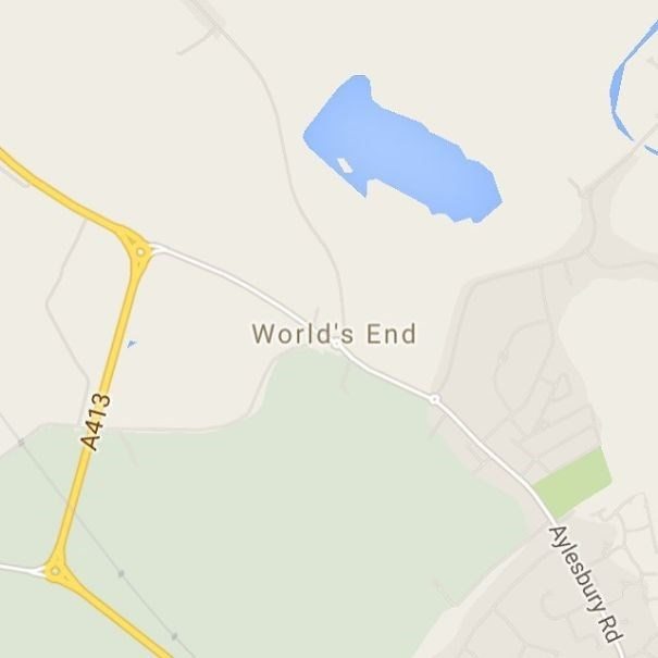Map - World's End A413 Aylesbury Rd