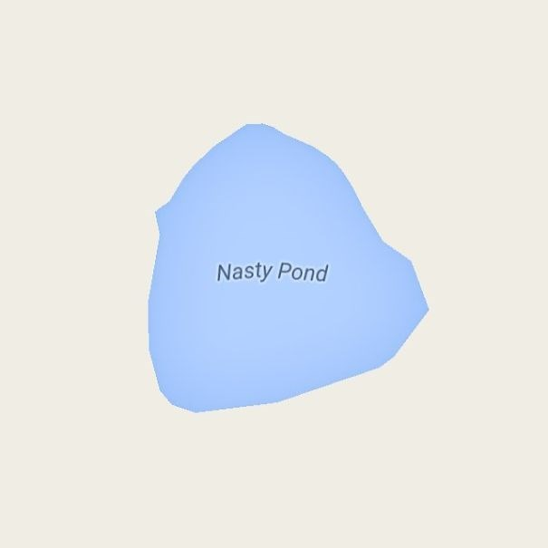 Blue - Nasty Pond