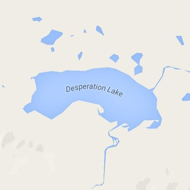 Map - Desperation Lake