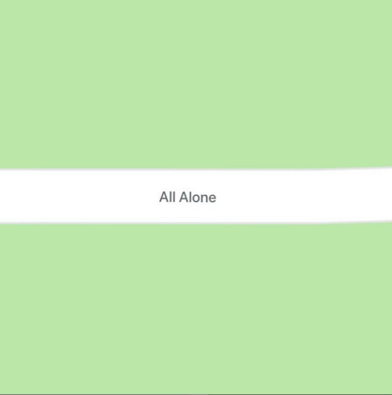 Green - All Alone