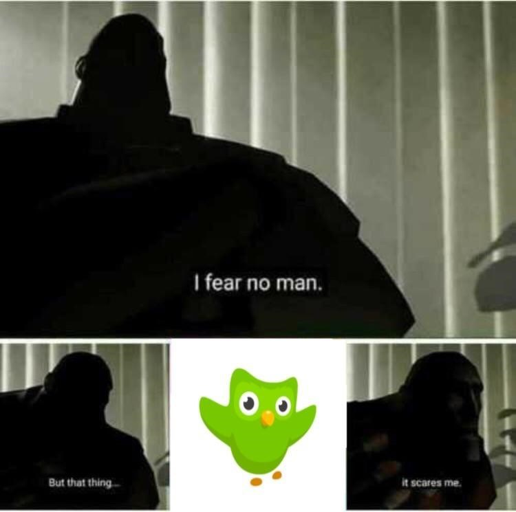 Font - I fear no man. it scares me But that thing