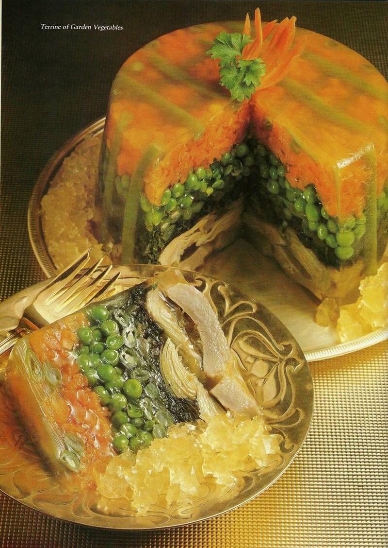 Food - Terrine of Garden Vegetables