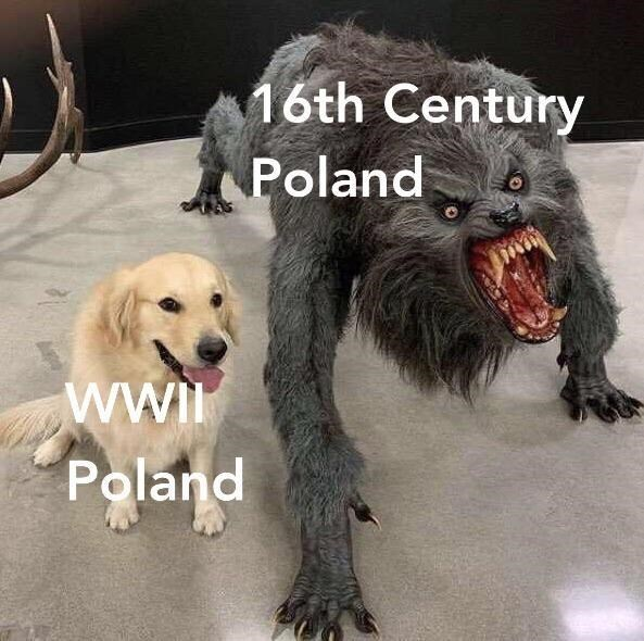 Dog - 16th Century Poland wwI Poland