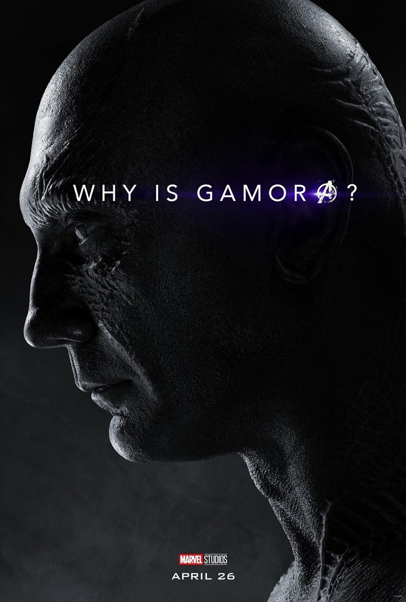 Face - WHY IS GA MOR? MARVEL STUDIOS APRIL 26