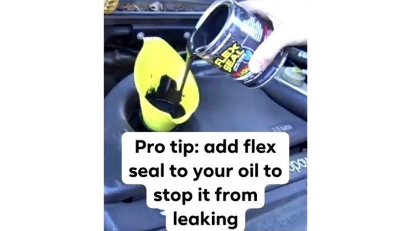 Yellow - Pro tip: add flex seal to your oil to stop it from leaking