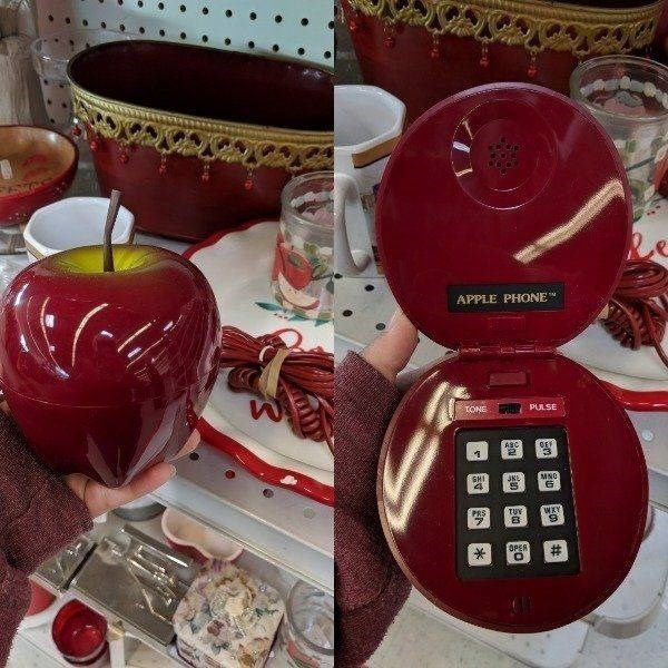 Food - APPLE PHONE NPULSE TONE ABC GHI PRS 7 TUY OPER