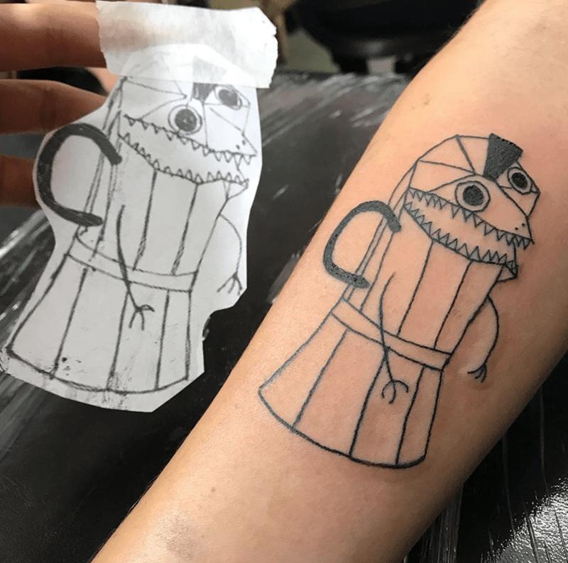 child tattoo - Tattoo