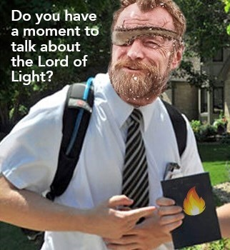 Facial hair - Do you have a moment to talk about the Lord of Light?
