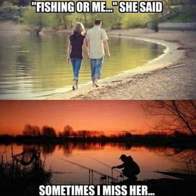 "Sky - ""FISHING OR ME"" SHE SAID SOMETIMESI MISS HER..."