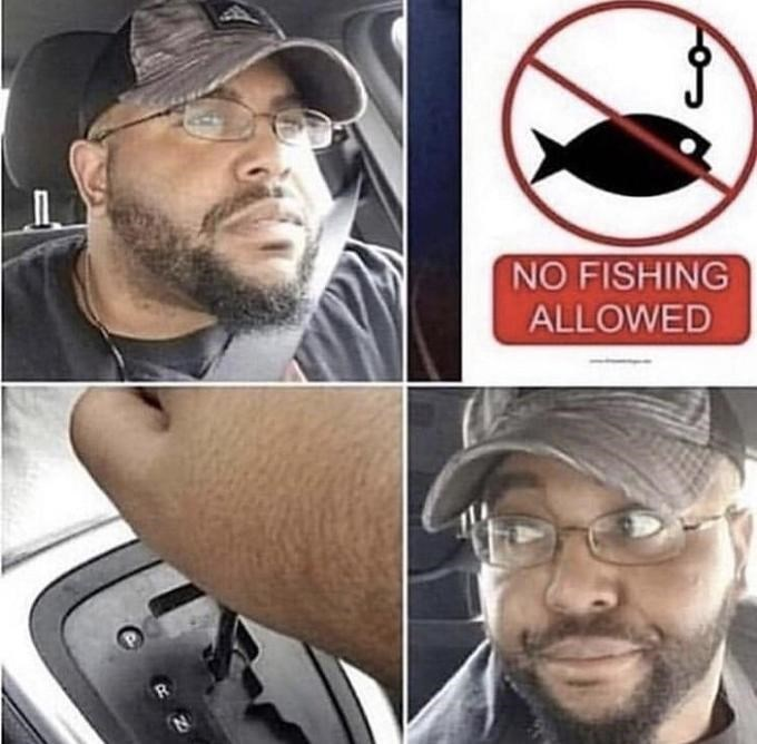 Hair - NO FISHING ALLOWED