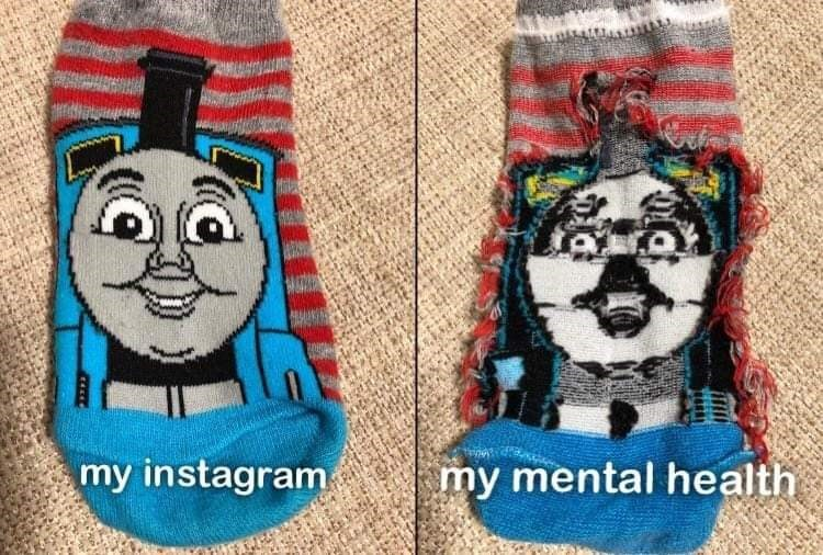 Font - my mental health my instagram