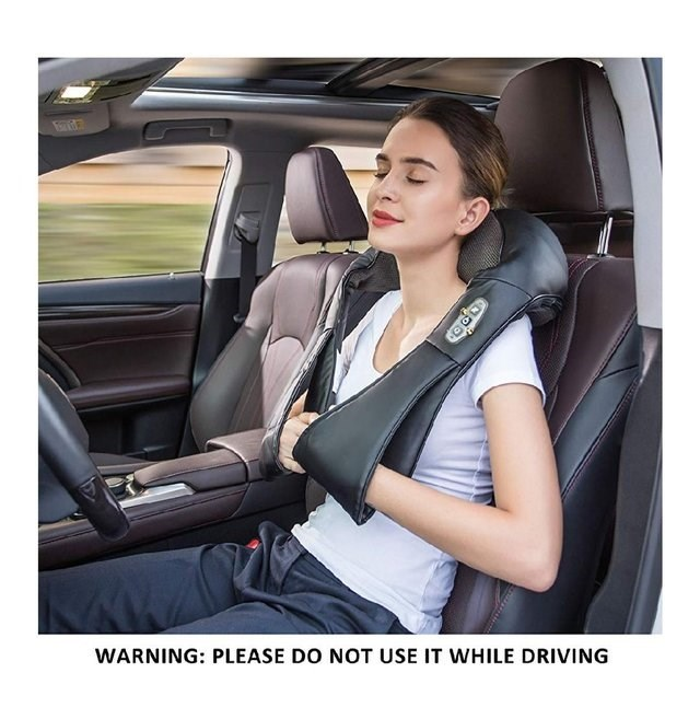 Car seat cover - WARNING: PLEASE DO NOT USE IT WHILE DRIVING