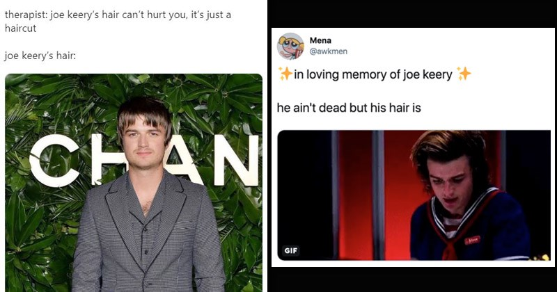 Funny memes and tweets about 'Stranger Things' actor Joe Keery's terrible haircut
