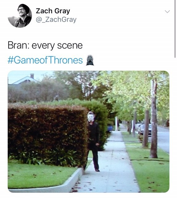 Tree - Zach Gray @_ZachGray Bran: every scene #GameofThrones