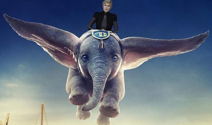 GoT meme of Cersei riding Dumbo